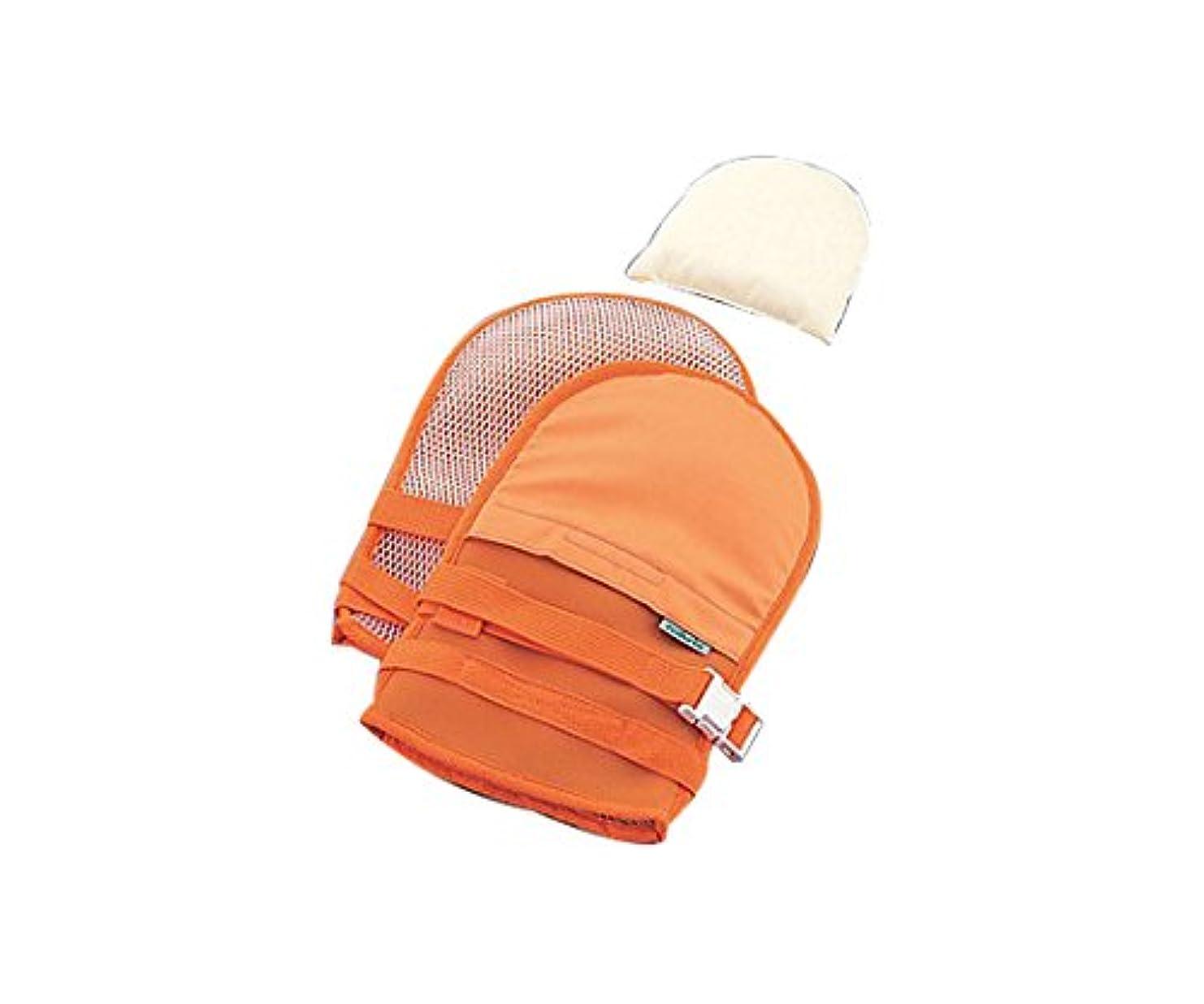 混乱子供っぽい打ち負かすナビス(アズワン)0-1638-41抜管防止手袋大メッシュオレンジ