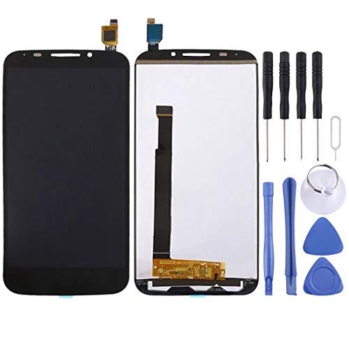 Cqu repareren van LCD-scherm, smartphone-onderdelen van het zwarte nieuwe LCD-touchscreen en de Digitizer Full Assembly for Alcatel One Touch POP-mobiele telefoon S7 / 7045 / OT7045 / 7045Y, zwart