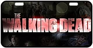 Daily necessities LTD The Walking Dead Metal License Plate Design Custom Car Tag