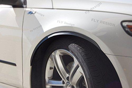 Car-Tuning24 54720558 für Daihatsu Tuning felgen 2X Radlauf Verbreiterung Carbon typ Kotflügel Leisten