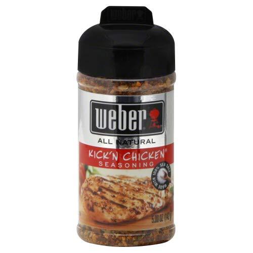 Weber Kick'n Chicken Seasoning (5.5 oz) 2 Pack