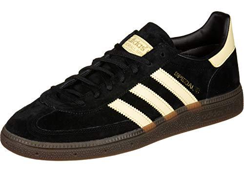 Adidas Schuhe Handball Spezial Core Black-Easy Yellow-Gum 5 (BD7621) 40 2/3 Schwarz