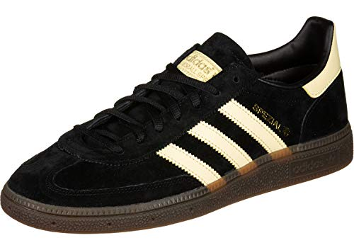 adidas Originals Handball Spezial Unisex-Sneaker BD7621 Core Black/Easy Yellow Gr. 40 2/3 (UK 7,0)