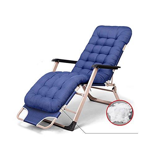 Fauteuils inclinables Feifei Pliant Lounge Chair Canapé Portable Ménage Siesta Chaise Multifonction Dossier Chaise Chaise/Chaises Longues pour Jardin Bureau Extérieur Intérieur Plage Chaise Pliant