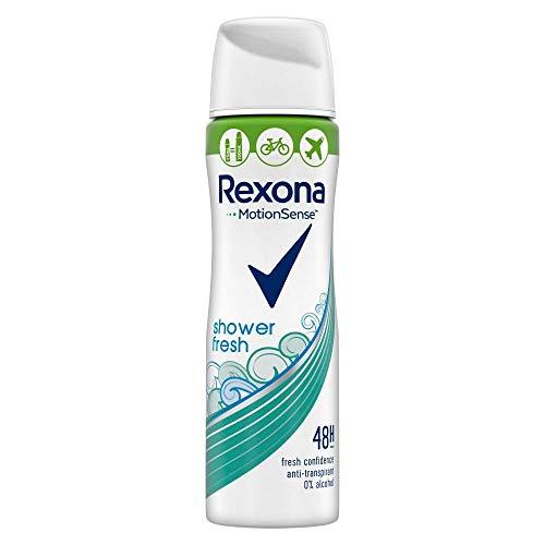 Rexona Deospray Shower Fresh Anti-Transpirant Compressed, 75ml, 6er Pack (6 x 75ml)