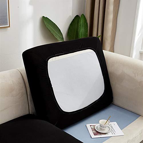 Color de Color Liso Sofá Sofá Cojín de cojín Sofá Cubiertas para Sala de Estar Tapa de Silla de Asiento elástica removible Protector de Muebles (Color : Color 23, Specification : 1PC XL 65 95cm)