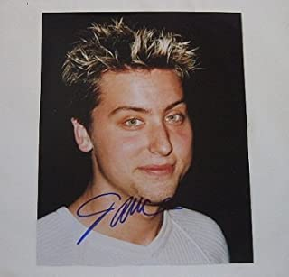 'N Sync No Strings Attached Sexy Lance Bass Hand Signed Autographed 8x10 Glossy Photo Loa