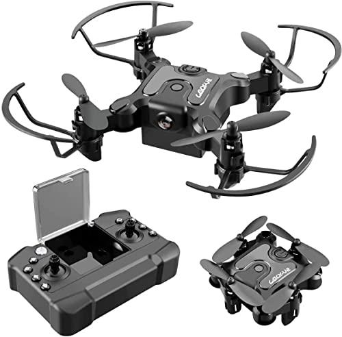 4DV2 Mini Drone for Kids Toys Gift,Nano Pocket Foldable RC Quadcopter with 3 Batteries,Altitude Hold, Headless Mode, 3D Flips, One Key Return, 3 Speed Modes, Easy Fly for Beginners Boys Girls