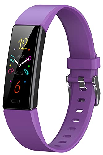 Fitness Uhr Damen Herren Sport Armband Pulsuhr mit Blutdruckmessung Schrittzähler Kalorien Armbanduhr Wasserdicht Schlaf Tracker Smartwatch für IOS Android