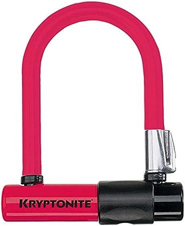 Kryptonite Mini U-Lock Color Skins Red New Free Shipping