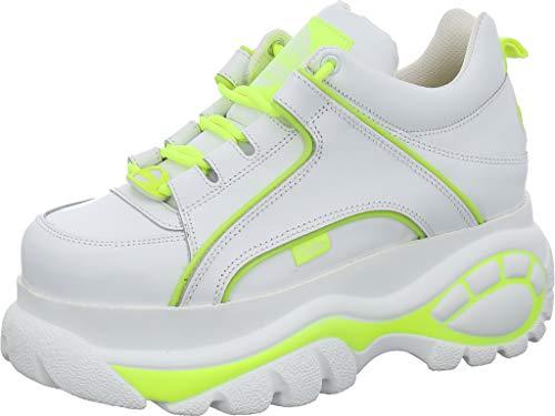 Buffalo 1339-14 2.0 Damen Sneaker, Weiss Kombi, 39 EU
