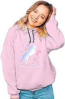 Real Basics Girls Hooded Sweatshirt