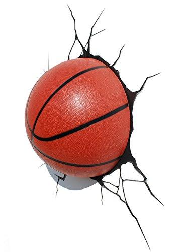 e-concept Distribution France - PDG00000067 - 3D Deco Light - Ballon de Basketball - Orange