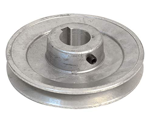 Fartools 117260 Riemenscheibe aus Aluminium, Durchmesser 12 cm, 24-mm-Bohrung