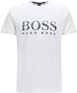 Men's Tee 7 Boss Logo Print T-Shirt