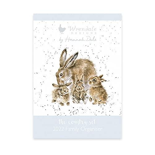 Wrendale Designs Family Calendar 2022 – Hare Family