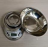 NC Báscula de Cocina, báscula Digital para Alimentos con Capacidad de Alta precisión, báscula de medición multifunción Digital -3 kg / 0,1 g