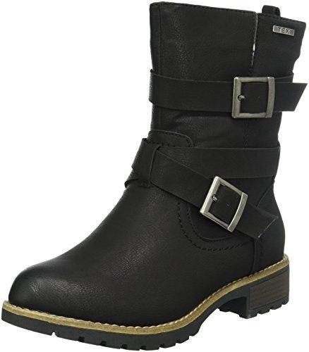 Jana Damen 26426 Chelsea Boots, Schwarz (Black 001), 41 EU