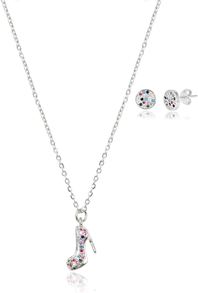 SM Stainless Steel Fashion Jewelry Max 82% OFF Plated Tulsa Mall Silver Pendant W Gold
