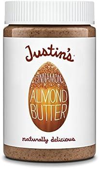 Justin's Non-GMO, Responsibly Sourced Cinnamon Almond Butter Jar, 16oz