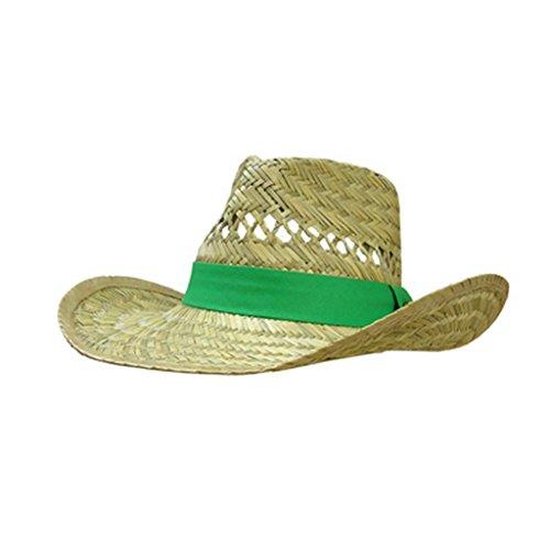 John Deere Woven Outback Field Hat Green