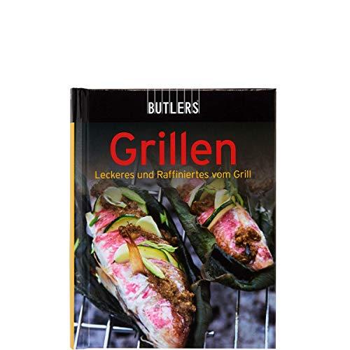 BUTLERS Kochbuch Mini-Kochbuch Grillen - köstliche Grillrezepte - Fleisch, Salate, Dips, Saucen - handliche kompakte Form