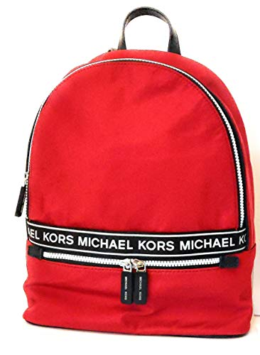 Michael Kors - Zaino in nylon, 30 x 32 x 10 cm, colore: Rosso