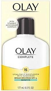 Olay Complete All Day UV Defense Moisture Lotion, Sensitive Skin, 6-Fluid Ounce