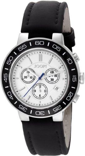 Joop Herren-Armbanduhr XL Insight Chronograph Quarz Leder JP100911F04