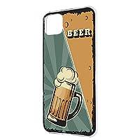 ハードケース すまほケース Google Pixel 4 XL G020Q 用 BEER ビール・グリーン ビンテージ アメリカン レトロ USA グーグル ピクセル フォー エックスエル SoftBank SIMフリー スマホカバー けーたいケース けいたいカバー beer_00x_h191@03