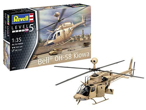 ドイツレベル 1/35 アメリカ陸軍 OH-58 カイオワ プラモデル 03871
