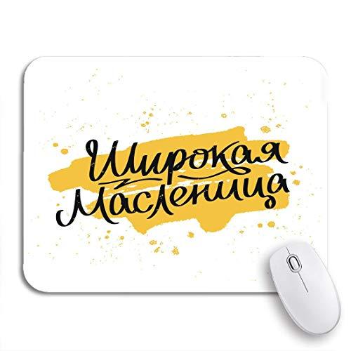 Gaming mouse pad maslenitsa wide pancake week der trend zu ausgezeichneten großen rutschfesten gummi backing computer mousepad für notebooks mausmatten