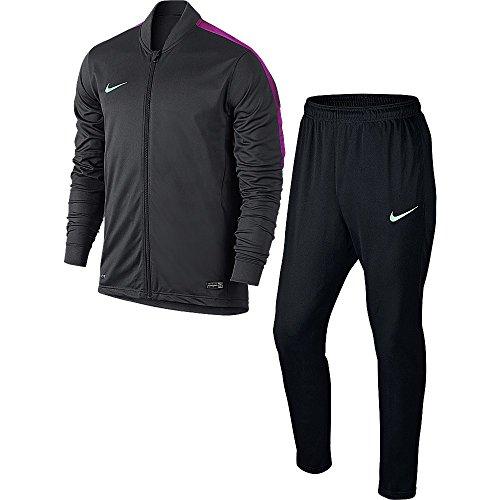Nike Academy KNT 2 trainingspak voor heren, grijs/zwart/lila