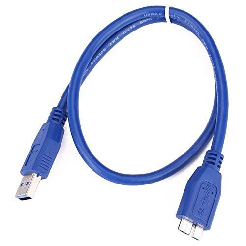 ACAMPTAR USB 3.0 a A Micro-Type B Cable para WD Disco Duro Externo