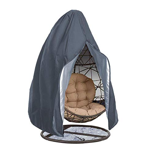 Patio Hangstoel Cover, Egg Swing Chair Covers, Heavy Duty Waterproof Egg Swing Chair Covers Met Rits Voor Tuinmeubelbeschermer