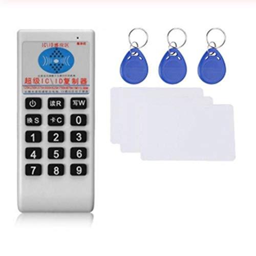 Cimoto Handheld RFID Karten Leser Schreiber 125 KHz-13,56 MHz Kopierer Duplikator ID-Stichworte Programmierer mit SchlüSsel Karten Replikator ID/IC Karte Cloner Reader
