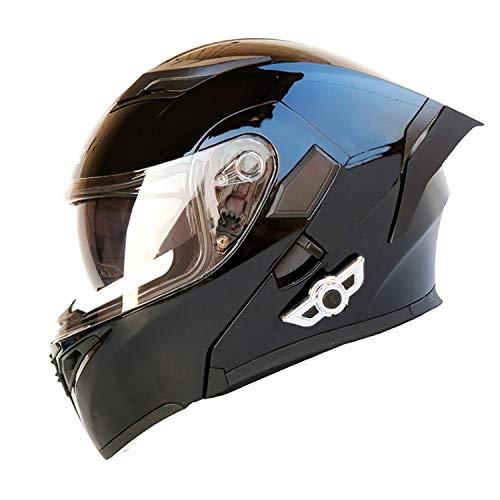 motorcycle street helmets Bluetooth Integrated Motorcycle Helmets Full Face Flip up Dual Visors Modular Motorcycle Street Bike Helmet
