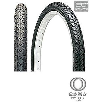 (GIZAPRODUCTS/ギザプロダクツ)(小径車用タイヤ)C-1446 (2本巻) 20x1.75 BLK