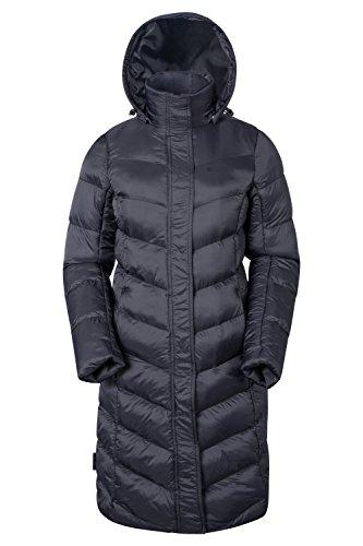 Mountain Warehouse Alexa Womens Padded Winter Jacket - Insulated Snow Puffer Black 10