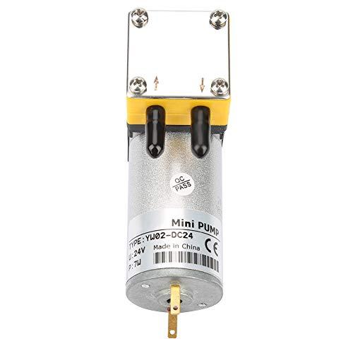 Mikro-Vakuumpumpe, Membran-Vakuumpumpe Vakuumpumpe Laborpumpe 24-V-Luftpumpe, für flüssige Luft