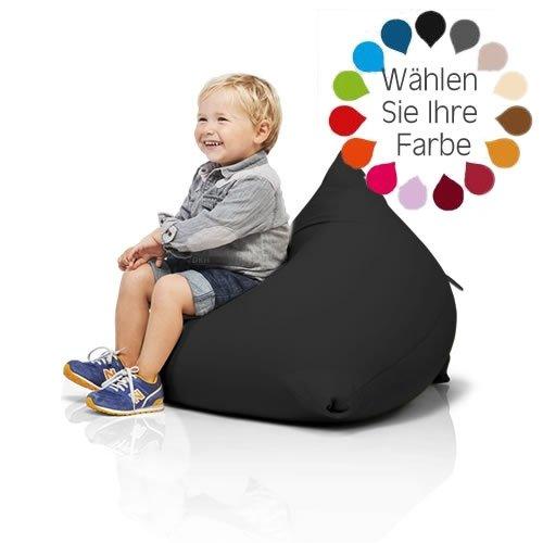 Terapy  Sitzsack Sydney, der ideale Sitzsack für Kinder schwarz