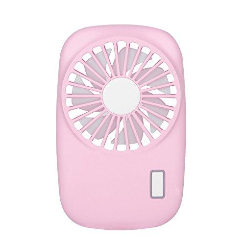 TechCode Ventiladores de Mano portátiles, Ventilador de Mano silencioso Mini USB de Carga, Ventilador de Forma de cámara eléctrica al Aire Libre de Verano, Ventiladores portátiles de