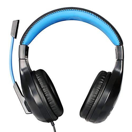 No Fear Unisex Gaming Headset Headsets Black/Blue One Size