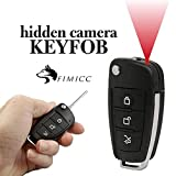 Auto Key Housing Hidden Camera by fimicc - Portable Car Key with Full HD Real-Time Video Recording - Motion Detector and Night Vision - Small and Undetectable for Personal Office and Home Security