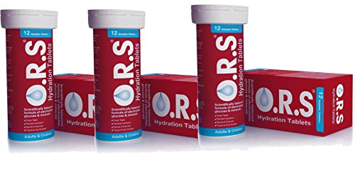 O.R.S ORS Hydration Tabs Strawberry 12 tablet X 3 (Pack of 3)