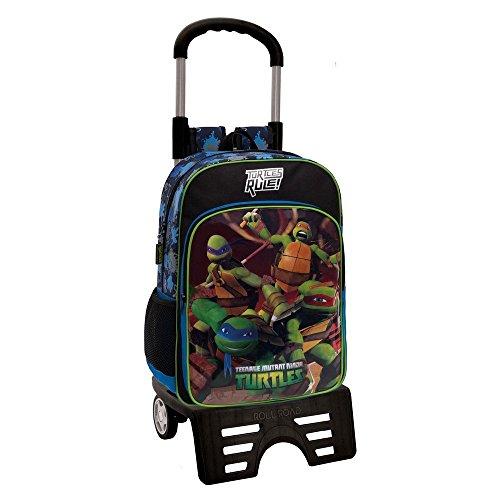 Tortugas Ninja Mochila Escolar  15.6 litros  Color Azul