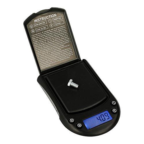 Báscula Digital de Precisión, Rango 0,1g a 300g, Balanza Portátil, Peso Joyero, Minerales, Monedas, Numismática, Cocina, Alimentos, M5