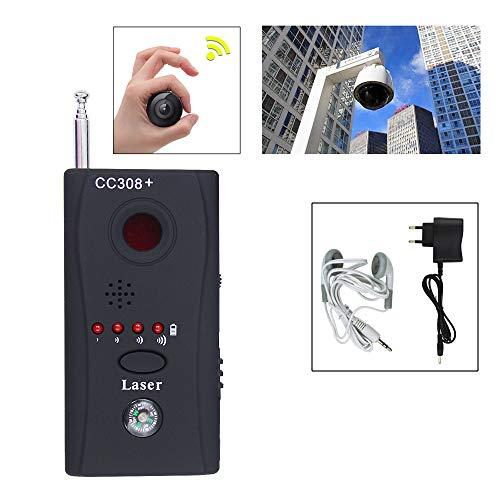 Wolketon CC308+ Wanzen Finder Funk Signal Finder Anti Spy RF Tracker für Überwachung Spy Detektor Audio Telefon Geräte-Finder RF Tracker GPS GSM Detektor