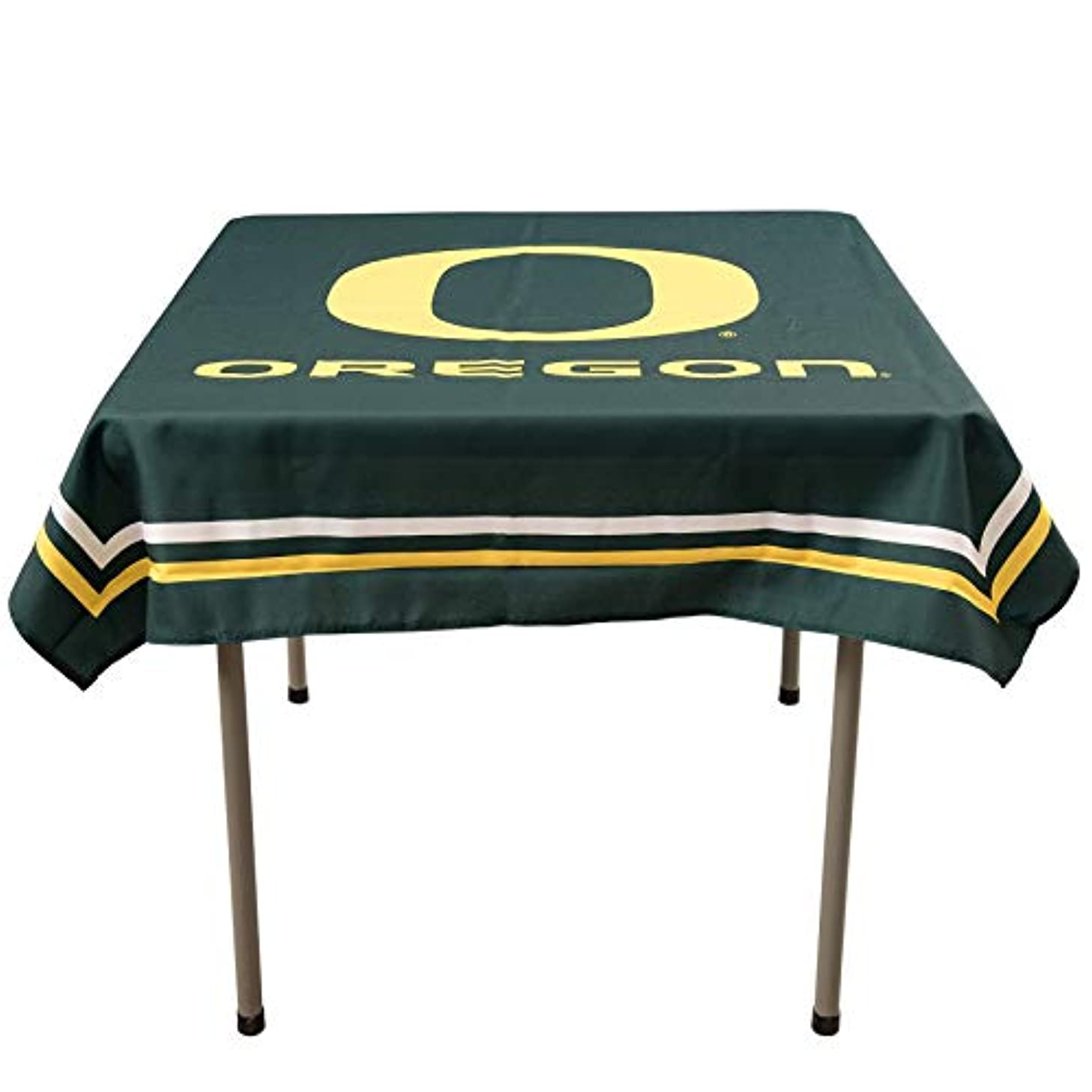 College Flags and Banners Co. Oregon Ducks Logo Tablecloth or Table Overlay