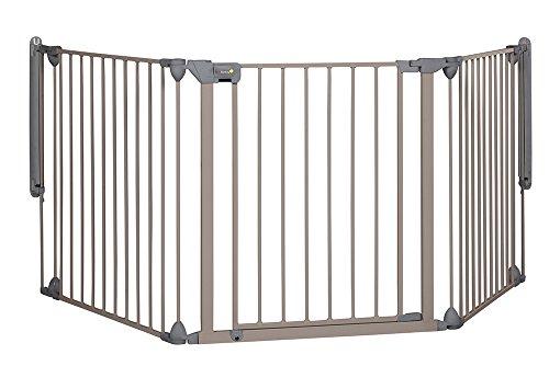 Safety 1st 24226580 Modulares 3-teiliges Kamin- und Absperrgitter, für offene Wohnbereiche